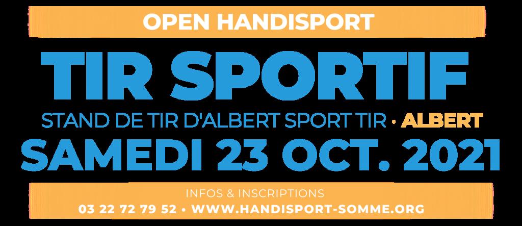 TIR SPORTIF / Open Handisport TIR SPORTIF @ STAND DE TIR D'ALBERT SPORT TIR | Cayeux-sur-Mer | Hauts-de-France | France