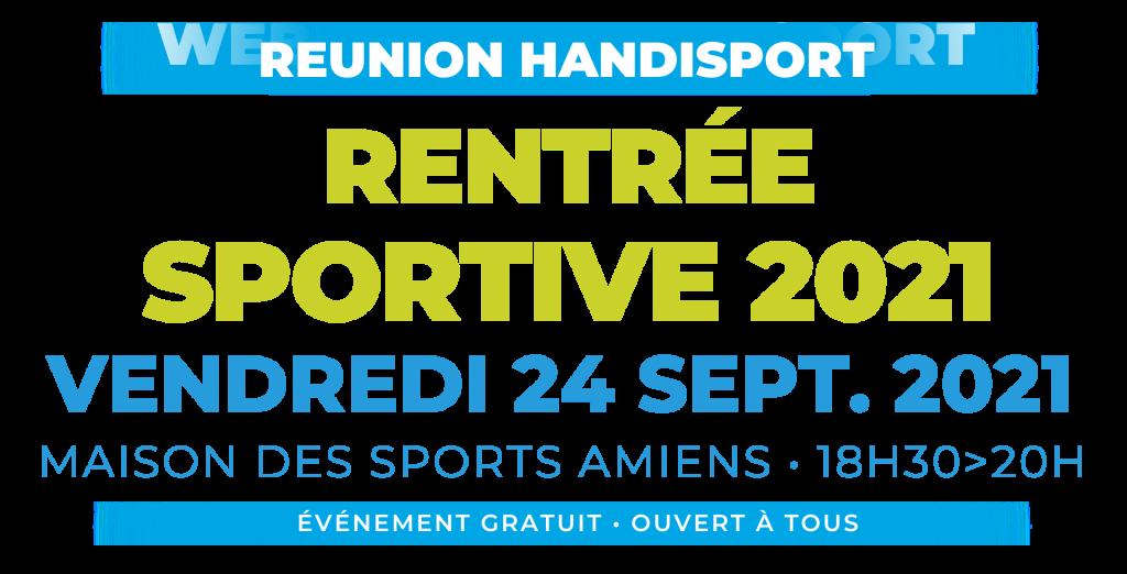 REUNION / Réunion de Rentrée Sportive 2021 @ MAISON DES SPORTS | Cayeux-sur-Mer | Hauts-de-France | France