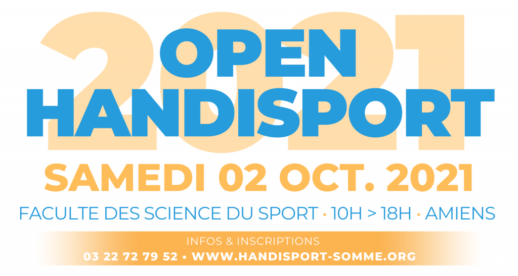 MULTISPORTS / Open Handisport 2021 @ U.F.R. STAPS Amiens | Cayeux-sur-Mer | Hauts-de-France | France