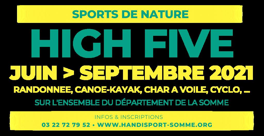 CANOË-KAYAK / Programme HIGH FIVE 2021 @ Canoë Kayak Club de Ham | Cayeux-sur-Mer | Hauts-de-France | France