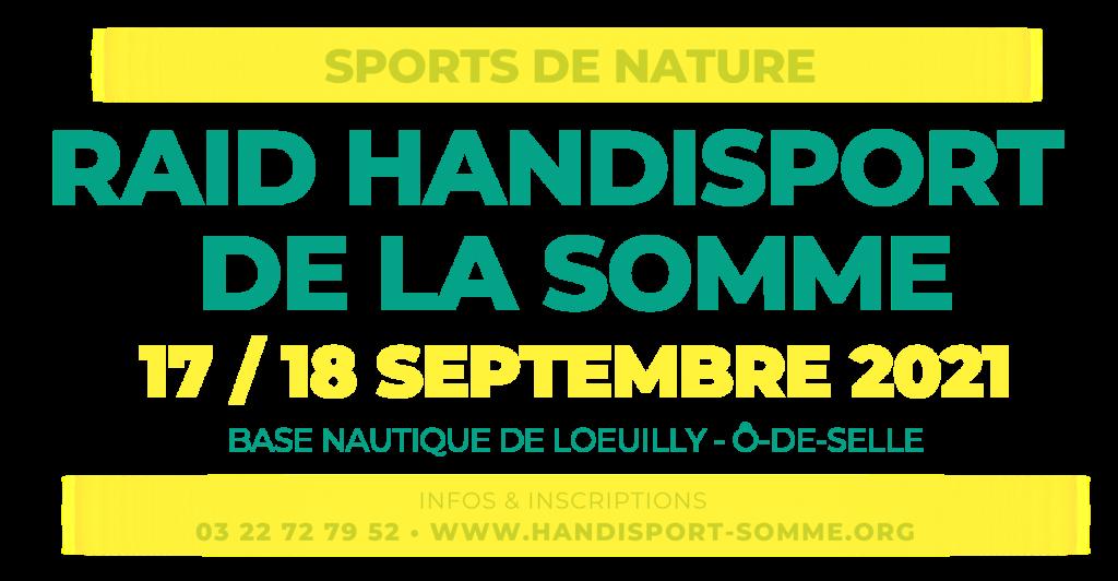 SPORTS DE NATURE / Raid Handisport de la Somme 2021 @ BASE NAUTIQUE DE LOEUILLY | Cayeux-sur-Mer | Hauts-de-France | France