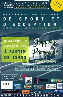 "SPORT AUTOMOBILE / Baptême ""Cars and Share"" - Edition 2019 @ Shopping Promenade"