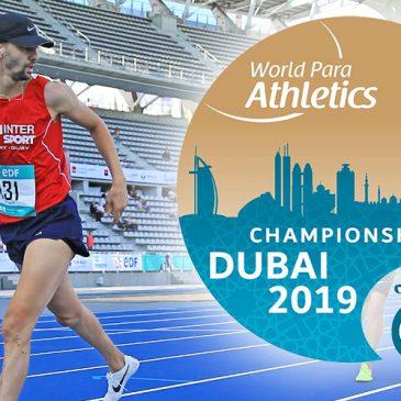 ATHLÉTISME / Direction les Mondiaux 2019 pour Redouane (AUC Athlétisme) !
