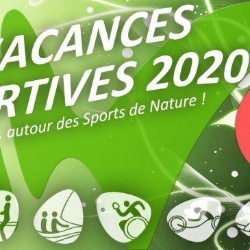 SPORT DE NATURE / Programme des Vacances Sportives 2020 disponible !