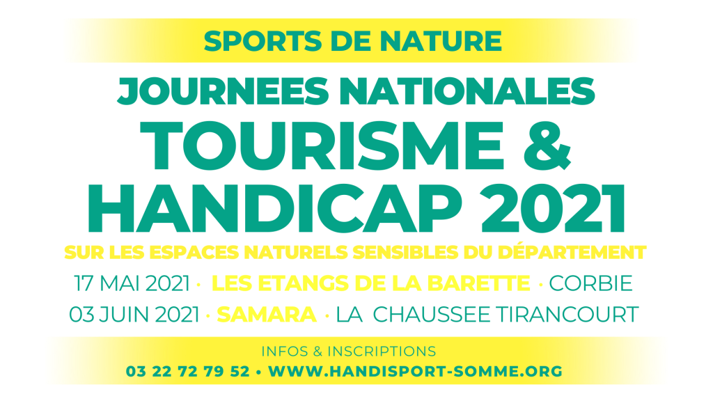 SPORTS DE NATURE / Journées Nationales Tourisme & Handicap 2021 @ Etangs de la Barette