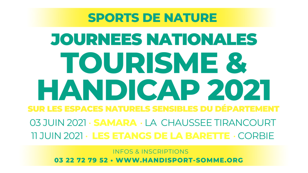 SPORTS DE NATURE / Journées Nationales Tourisme & Handicap 2021 @ Etangs de la Barette