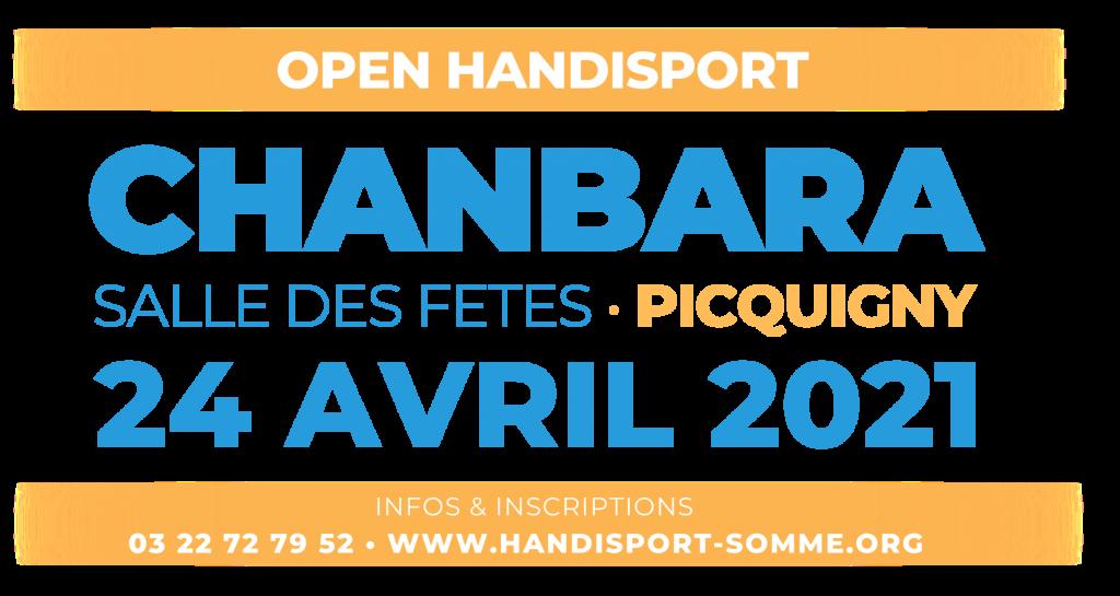 CHANBARA / Open Handisport CHANBARA @ Salle des Fêtes