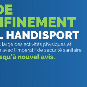 F.F. HANDISPORT / Plan de Déconfinement Handisport – Phase 3