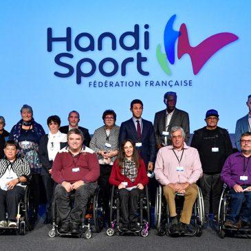 F.F. HANDISPORT / Guislaine WESTELYNCK réélue à la tête de la Fédération Française Handisport