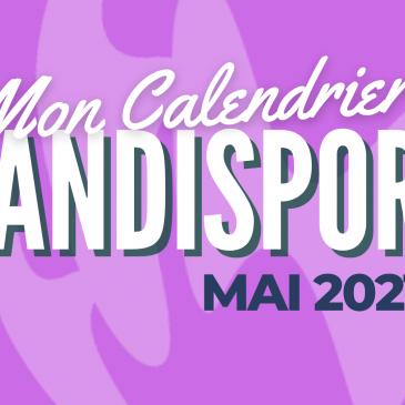 MON CALENDRIER HANDISPORT / Juin 2021